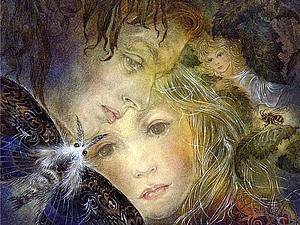 Необыкновенные картины Суламифь Вульфинг | Ярмарка Мастеров - ручная работа, handmade