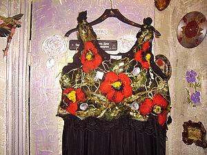 Платье 3 Д | Ярмарка Мастеров - ручная работа, handmade