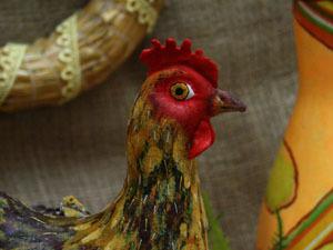 Создание Пасхальной курочки. Ярмарка Мастеров - ручная работа, handmade.