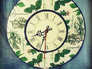 Мастерим часы из виниловой пластинки