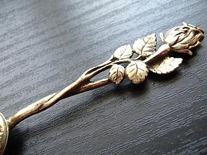 Столовые приборы всемирно известного дизайна «Хильдесхаймская роза» | Ярмарка Мастеров - ручная работа, handmade