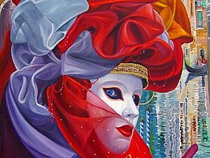 Алекс Левин: «Венеция сквозь глаза маски»   Ярмарка Мастеров - ручная работа, handmade