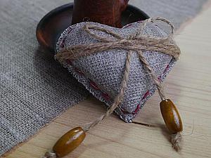Мастер-класс: сердечко в стиле рустик из полимерной глины. Ярмарка Мастеров - ручная работа, handmade.
