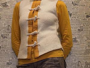 Из безрукавки в жилет: создание теплой и удобной вещицы. Ярмарка Мастеров - ручная работа, handmade.