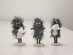 Появились новые ёжики в тумане   Ярмарка Мастеров - ручная работа, handmade