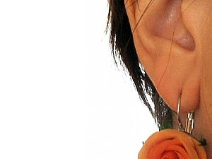 Маленький секрет ношения серёжек (Елена Волкова) | Ярмарка Мастеров - ручная работа, handmade