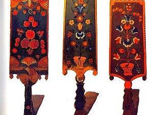 И распускались под кистью мастеров розы красные да тюльпаны синие. Ярмарка Мастеров - ручная работа, handmade.