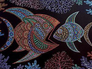 Точечная роспись | Ярмарка Мастеров - ручная работа, handmade
