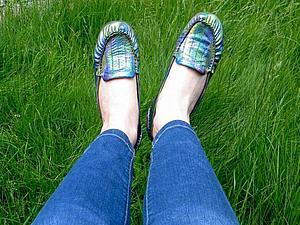Как покрасить свои старые туфли | Ярмарка Мастеров - ручная работа, handmade