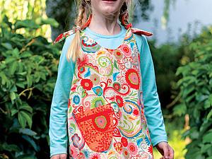 Платье для девочки (двустороннее). Ярмарка Мастеров - ручная работа, handmade.