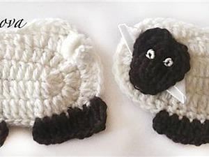 Вяжем милых барашков для малышей. Ярмарка Мастеров - ручная работа, handmade.