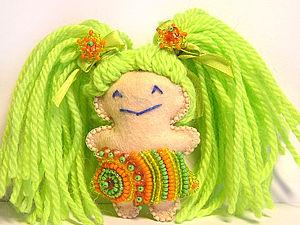 Куколка для создания хорошего настроения :). Ярмарка Мастеров - ручная работа, handmade.