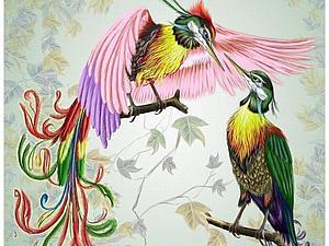 Новая коллекция Райские Птички!!! | Ярмарка Мастеров - ручная работа, handmade