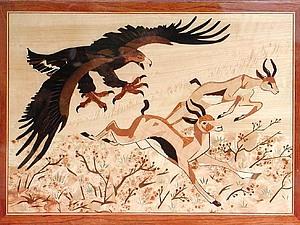 Маркетри — искусство мозаики из шпона. Ярмарка Мастеров - ручная работа, handmade.