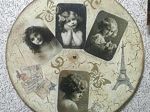 Новый МК! Часы «Незабываемое Ретро» | Ярмарка Мастеров - ручная работа, handmade