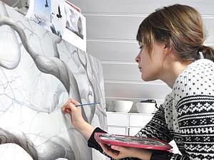 Норвежские художники. Скандинавская меланхолия Анне Ангелшауг   Ярмарка Мастеров - ручная работа, handmade