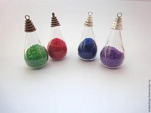 Бесплатно!!! При покупке стекляннной бутылочки - набор цветного песка   Ярмарка Мастеров - ручная работа, handmade