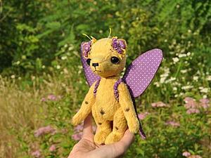 Аукцион с 0 на мишку Тедди! Кому бабочку?   Ярмарка Мастеров - ручная работа, handmade