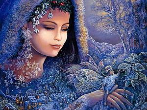 Цветотип Женщина - Зима! Все о них. | Ярмарка Мастеров - ручная работа, handmade