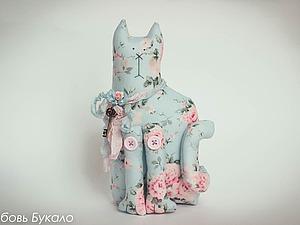Шьем котика в стиле шебби-шик. Ярмарка Мастеров - ручная работа, handmade.