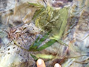 Текстильные практики на море: контактное крашение и другое | Ярмарка Мастеров - ручная работа, handmade