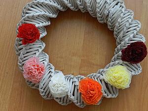 МК цветы из салфеток | Ярмарка Мастеров - ручная работа, handmade