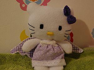 Создание мягкой игрушки - Hello Kitty ангел | Ярмарка Мастеров - ручная работа, handmade