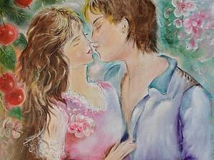 Аукцион!Картина про Любовь и панно в подарок! | Ярмарка Мастеров - ручная работа, handmade