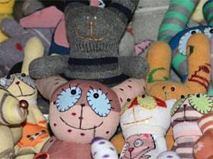 Игрушки из носков - Носуни.   Ярмарка Мастеров - ручная работа, handmade