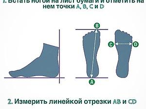 Как узнать длину и ширину стопы? | Ярмарка Мастеров - ручная работа, handmade