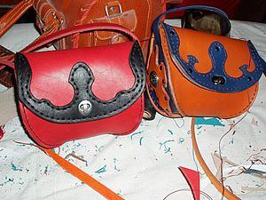 мастер-класс по созданию сумочки из кожи | Ярмарка Мастеров - ручная работа, handmade