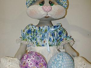 Шьем пакетницу «Пасхальный кролик» | Ярмарка Мастеров - ручная работа, handmade