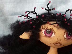 Плетём корону-венок из стекляруса для сказочного персонажа. Ярмарка Мастеров - ручная работа, handmade.