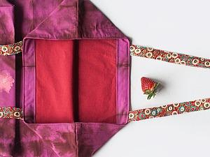 Мастер-класс: как сшить красивую эко-сумку с подкладкой. Ярмарка Мастеров - ручная работа, handmade.