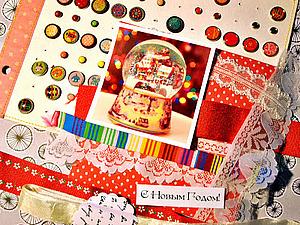 Творческий процесс. Мягкая открытка. | Ярмарка Мастеров - ручная работа, handmade