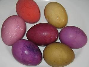 Красим яйца на Пасху растительными красителями | Ярмарка Мастеров - ручная работа, handmade