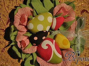 Пасхальный венок (используем остатки всего или новое применение старых CD-дисков) | Ярмарка Мастеров - ручная работа, handmade