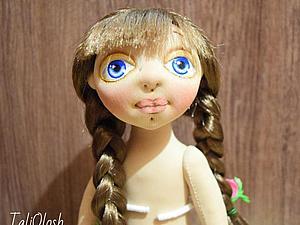 Создание текстильной шарнирной куклы. Часть 7. Ярмарка Мастеров - ручная работа, handmade.