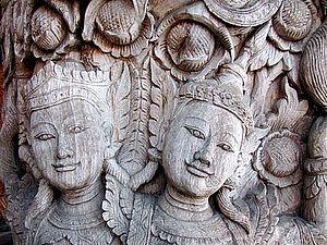 Деревянное зодчество тайских мастеров | Ярмарка Мастеров - ручная работа, handmade