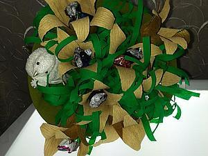 Мастер-класс по Букету из Конфет   Ярмарка Мастеров - ручная работа, handmade