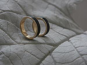 Золотые кольца с грабом или мастер-класс о мастер-классе.. Ярмарка Мастеров - ручная работа, handmade.