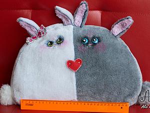 А в пятницу Влюблённые зайки обрели хозяина :) | Ярмарка Мастеров - ручная работа, handmade