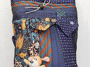Текстильные сумочки из галстуков | Ярмарка Мастеров - ручная работа, handmade