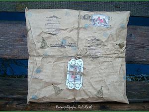 Новогодняя Упаковка от Деда Мороза. Ярмарка Мастеров - ручная работа, handmade.
