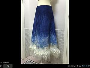 Валяем одежду: юбка, жакет или платье   Ярмарка Мастеров - ручная работа, handmade