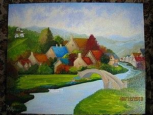 Аукцион на Чудесный Пейзаж | Ярмарка Мастеров - ручная работа, handmade
