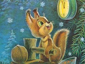 Добрые советские открытки. С Новым годом!   Ярмарка Мастеров - ручная работа, handmade