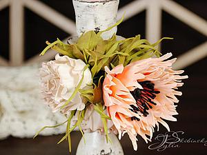 Новинка нашей студии! Цветы из фоамирана: Радужный мак! | Ярмарка Мастеров - ручная работа, handmade