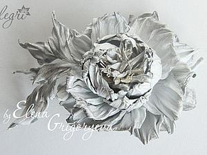 Мастер-класс. Староанглийская роза из кожи