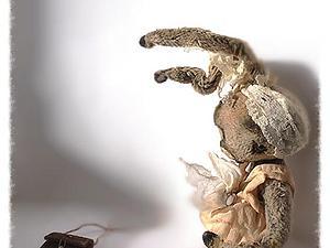 Маленькая длинноухая кроха от Татьяны Савеловой!!!!! | Ярмарка Мастеров - ручная работа, handmade